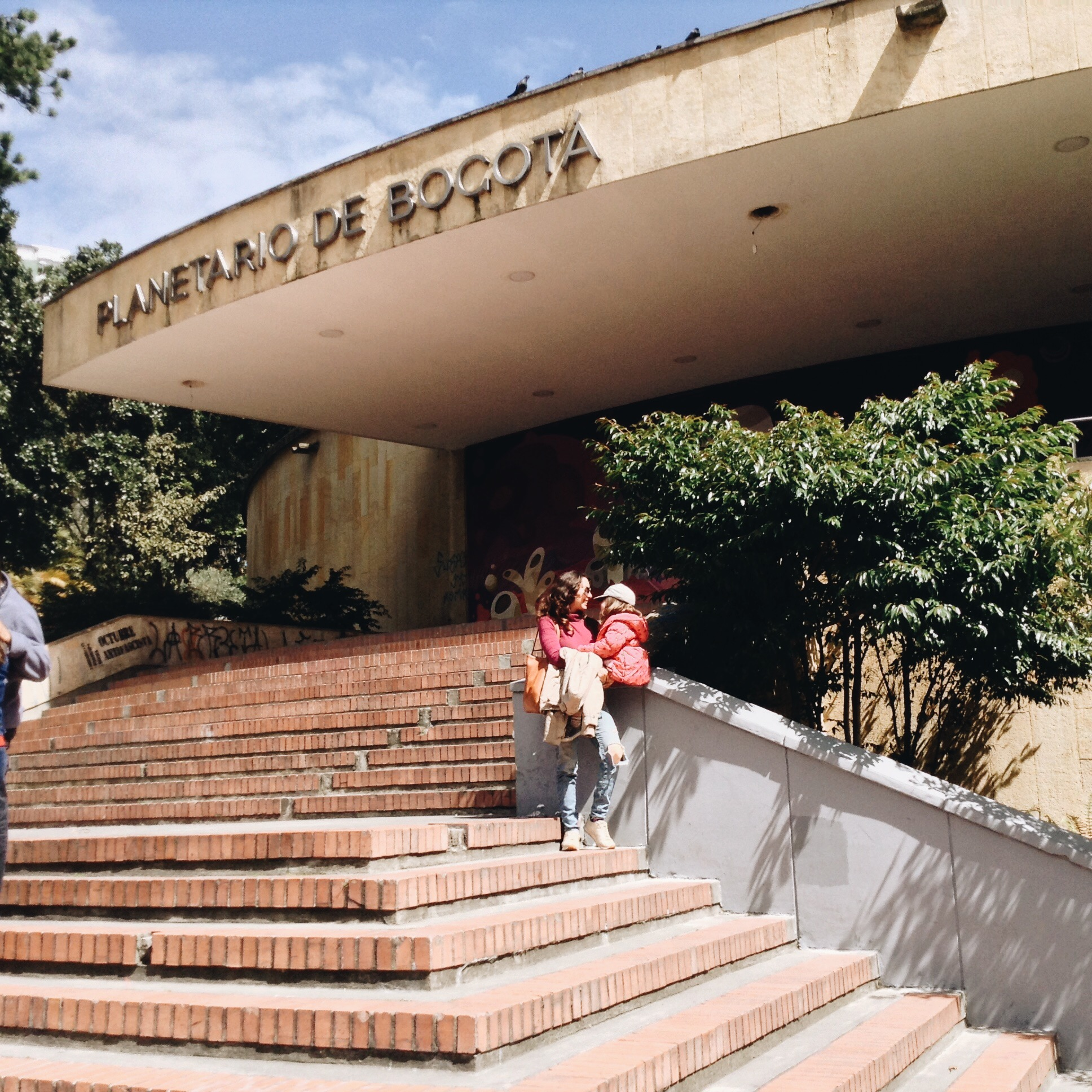 Entrada del Planetario de Bogotá