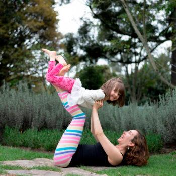 maternidad y meditación
